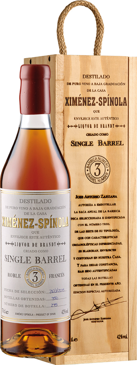 Brandy Single Barrel D.O.