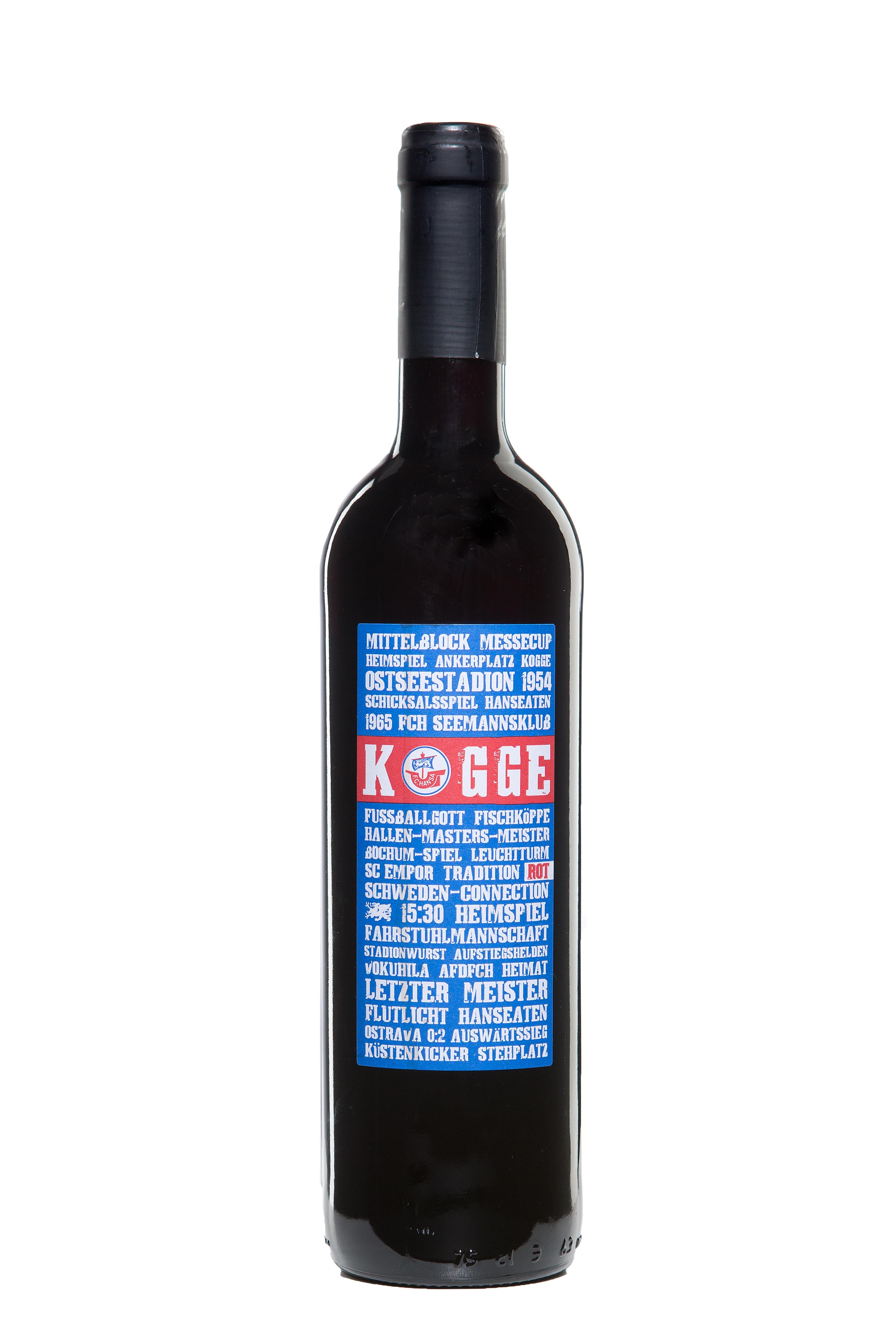 """""""Kogge – der Hansa Wein"""" Rotwein"""