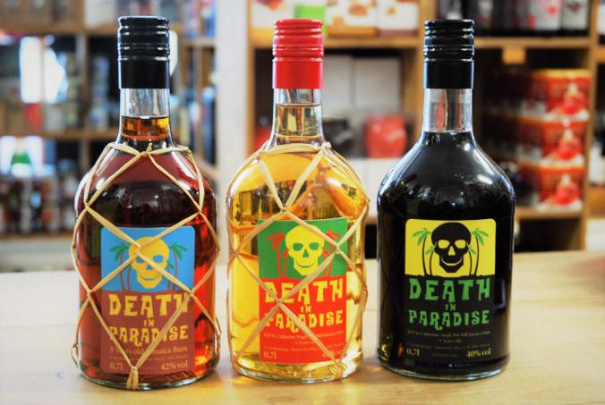 Die Death in Paradise Rum-Familie
