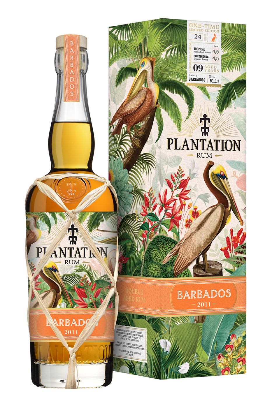 Plantation Rum Barbados 2011 ONE TIME Edition