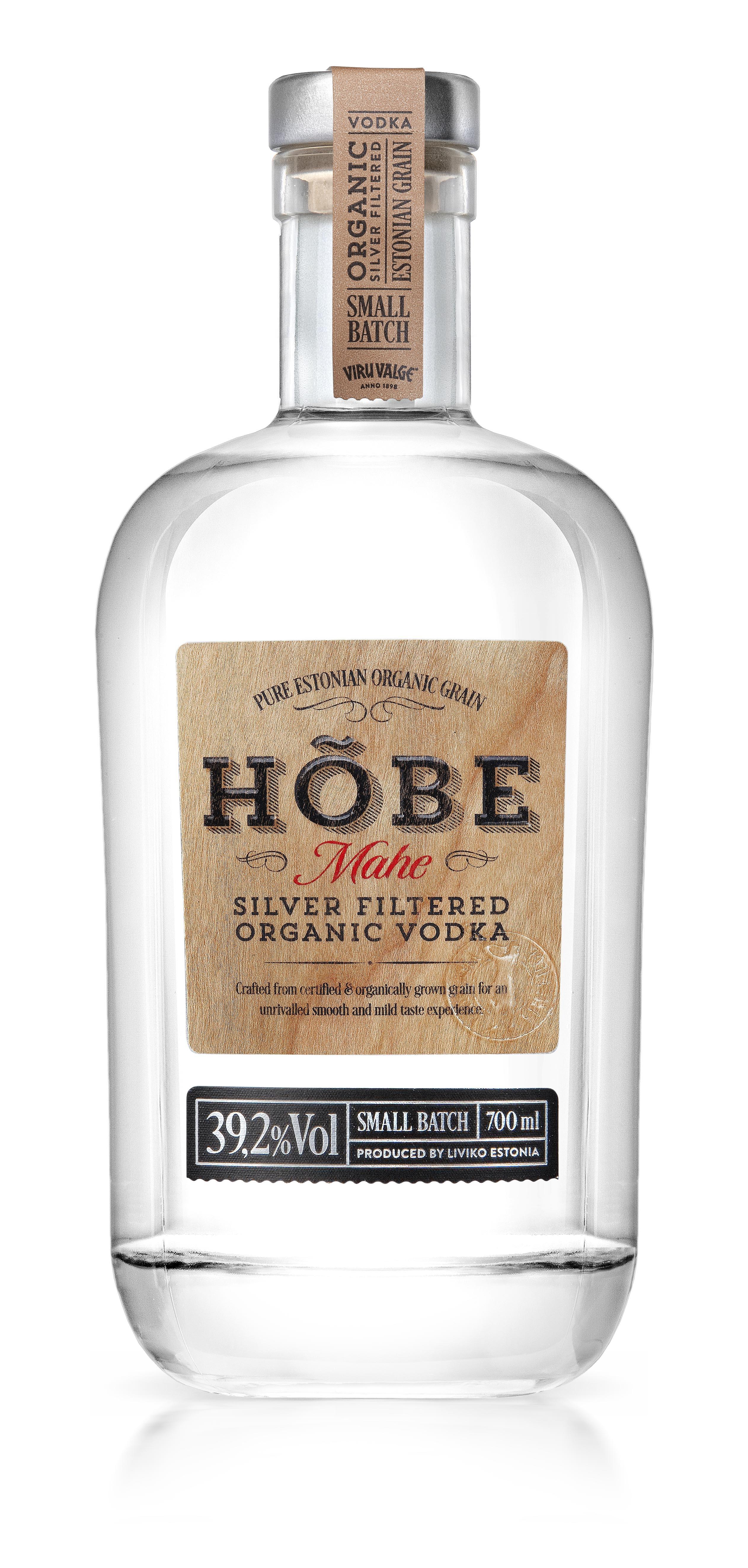 HÕBE Mahe Organic Vodka