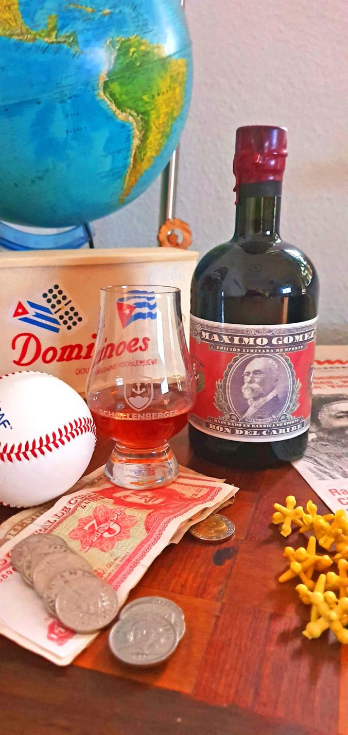 Ron Maximo Gomez Edición limitada de vino de oporto