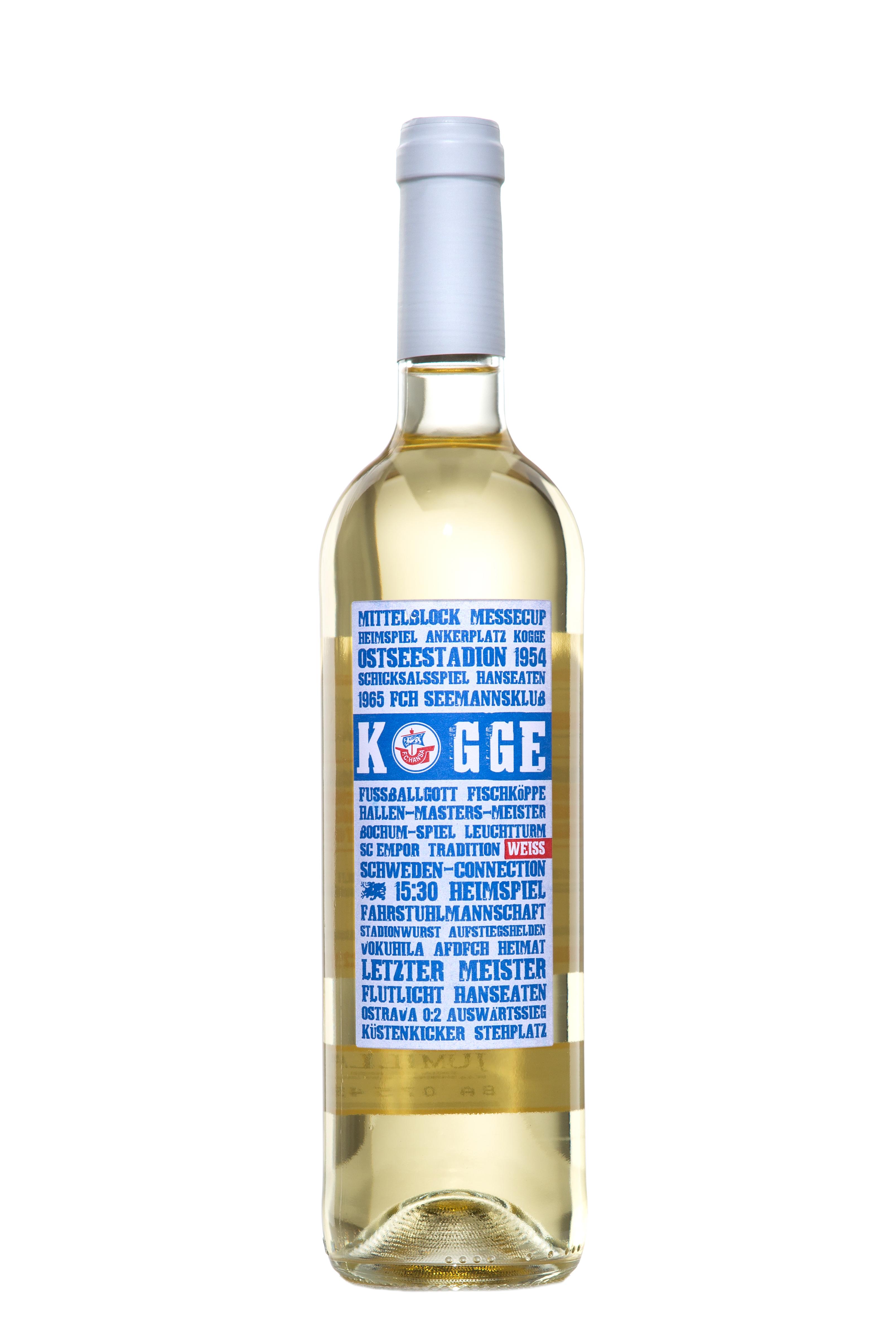 """""""Kogge – der Hansa Wein"""" Weißwein"""