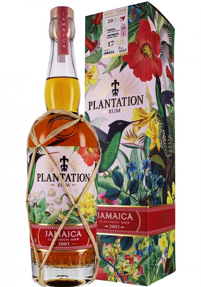 Plantation Rum Jamaica 2003 ONE TIME Edition
