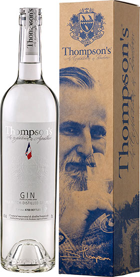 Thompson's bordelais grape Gin