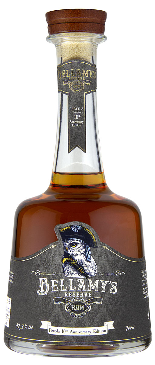 Bellamy's Reserve Rum Perola 10th Anniversary Edition