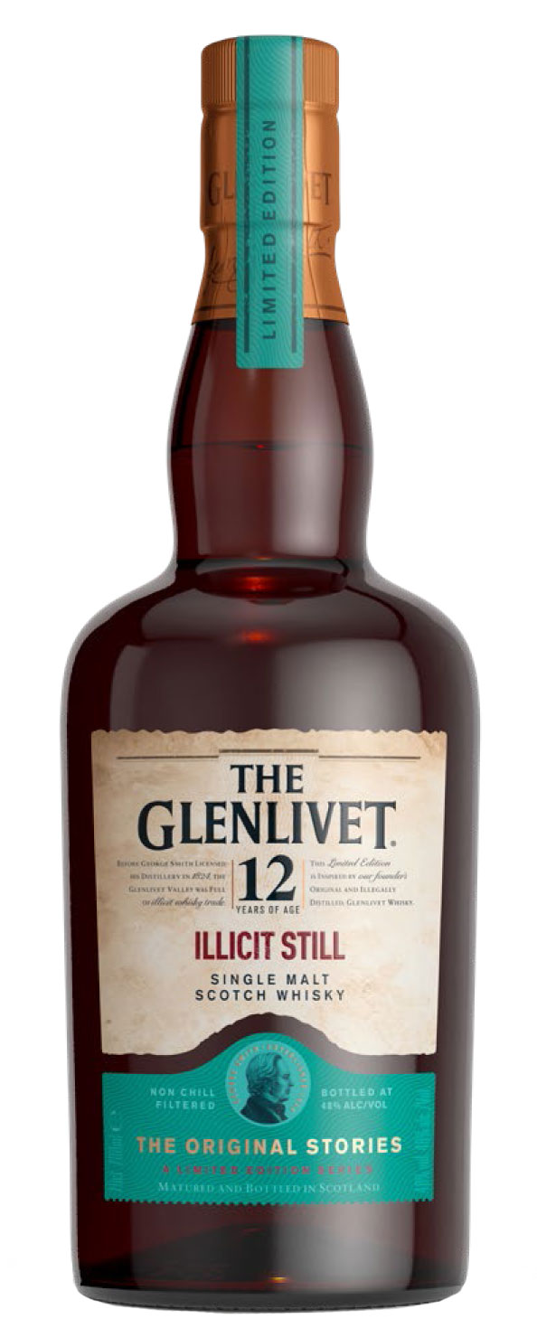 The Glenlivet ILLICIT STILL Single Malt Scotch Whisky