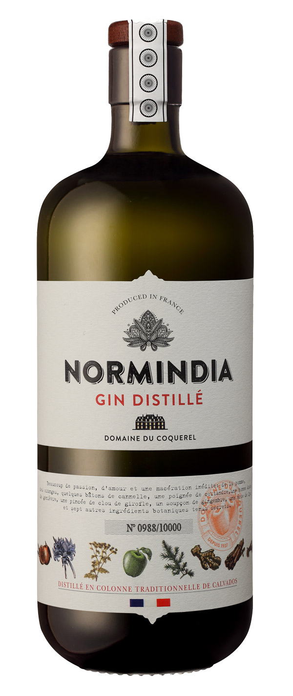 Neu im Regal: Normindia Gin Distillé