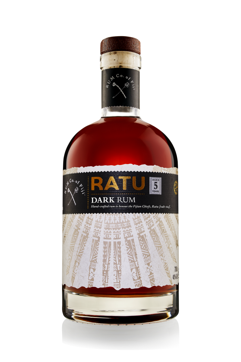 "RATU ""Dark"" Rum of Fiji 5 Years"