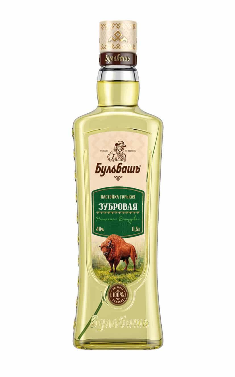 "Bulbash ""Zubrovaja"" Büffelgras Wodka"