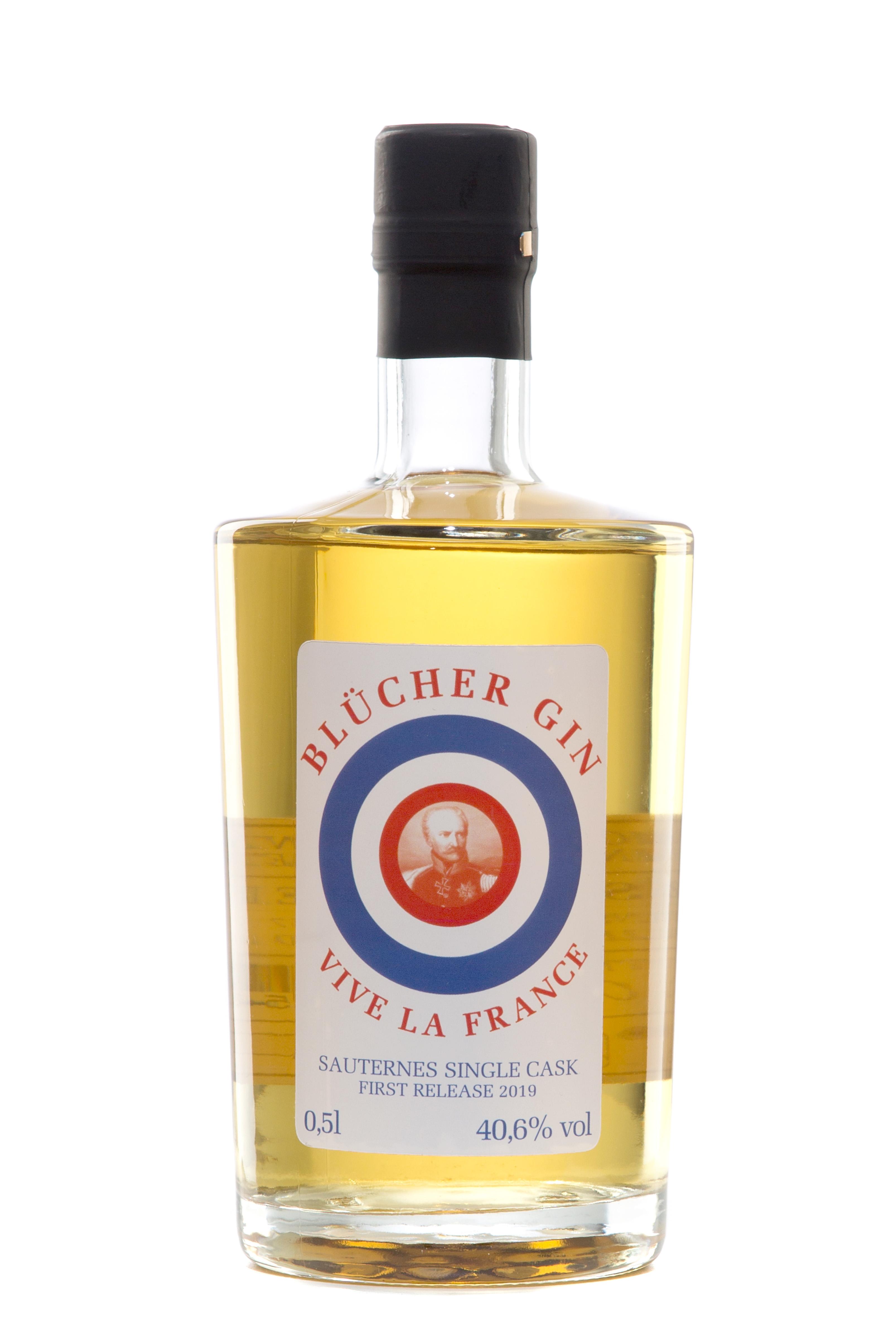 "Blücher Gin ""Vive La France"""